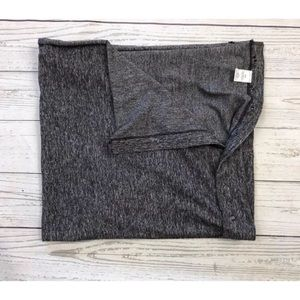 Lululemon Soft Gray Snap Button Scarf